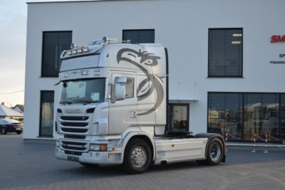 SCANIA R620 V8! 12.2011 EURO 5 ACC SKÓRY ALUSY 276